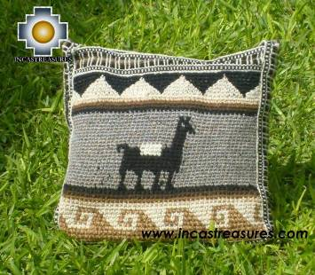 handmade handbag alpaca sheep ANDEAN HARVEST