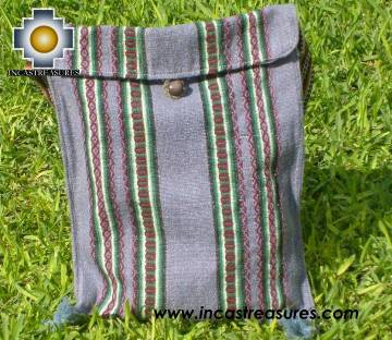 handmade handbag of bolivian blanket dawn