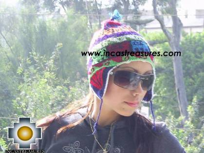 Chullo Hat Andean Designs Huancavelica