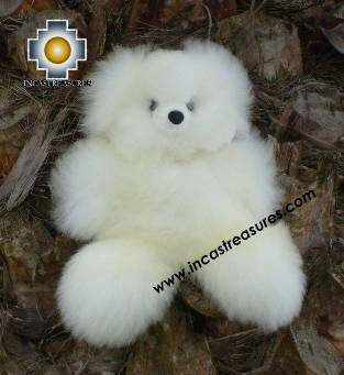 "100% Baby Alpaca, Adorable Teddy Bear ""TITO"""