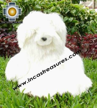 "100% Baby Alpaca, Beautiful Suri Long hair Big Teddy Bear ""Yoyo"""