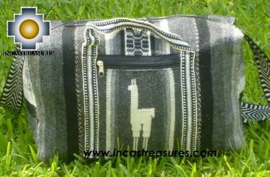 Alpaca Travel bag medium AMAUTA dark grey