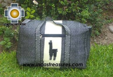Big Alpaca Travel bag TAMBO dark gray