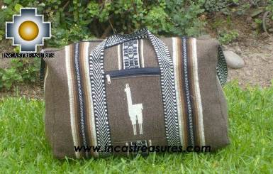 Big Alpaca Travel Bag Tambo earth