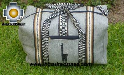 Big Alpaca Travel bag TAMBO silver
